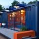Le container habitable: avoir un bureau de jardin chez soi